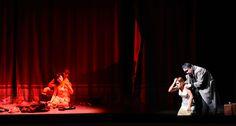 Carlos Cardoso (Il Duca), Siqi Li (Maddalena), Daniela Cappiello (Gilda), Hayato Kamie (Rigoletto) - foto di Roberto Ricci