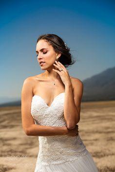 Bride Portrait by bernphoto
