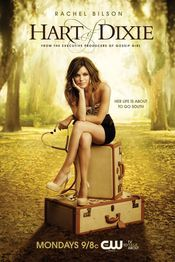 Rachel Bilson: 'Hart of Dixie' Poster! Rachel Bilson holds a stethoscope while sitting on two suitcases in the poster for her new show, Hart of Dixie, via THR. The stars as Zoe Hart in… Zoe Hart, Hart Of Dixie, Rachel Bilson, Wilson Bethel, Wade Wilson, Jaime King, Vanessa Marano, Alabama, Teri Polo