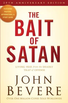 Are you ensnared by bitterness, seized by anger, or held captive by resentment . . . all because someone has offended you? John Bevere shows you how to escape Satan's grip, avoid a victim mentality, practice forgiveness, experience reconciliation, and remain free in Christ. This special edition of Bevere's book, The Bait of Satan, features testimonies from readers whose lives have been changed.