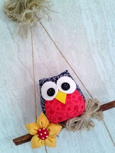Wall Decor Crafts, Diy Home Crafts, Diy Arts And Crafts, Sewing Crafts, Sewing Projects, Bird Crafts, Cute Crafts, Diy Gifts To Make, Felt Crafts Patterns