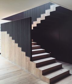 70 the best stairs ideas to interior design your home 62 Modern Stair Railing, Staircase Handrail, Stair Railing Design, Modern Stairs, Interior Design Your Home, India Home Decor, Interior Stairs, House Stairs, Stairways