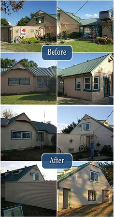 Look at the difference new siding makes on this home!