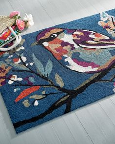 Autumn Bird Doormat Grandin Road