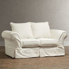 I think this might be the sofa we have. Owen Loveseat #birchlane