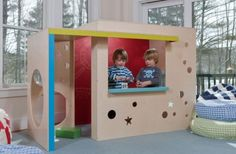 CedarWorks Rhapsody Indoor Playsets And Playhouses Bring Active Play Indoors | Kidsomania