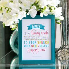 Framed Love Quote - Valentine's Gift AND Decor