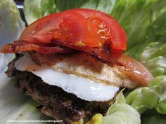 blt + egg burger
