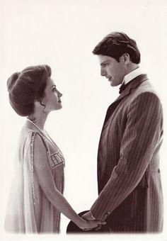"Jane Seymour y Christopher Reeve en ""Somewhere in Time""- 1980"