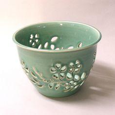 Yarn bowl, pot, or candle holder, oooooo. $40.00