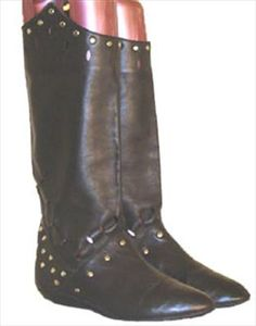 Town & Country Black Pirate Boots  $49.00