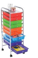 10-Drawer Rolling Cart  $34.99 at Michaels  7/1/12 - 7/7/12