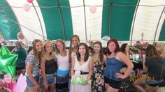 destiny and her friends and her graduation party