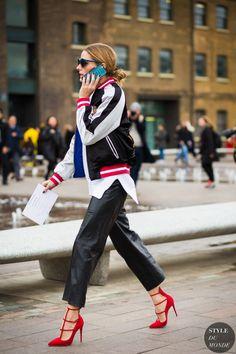 Olivia Palermo Street Style Street Fashion Streetsnaps by STYLEDUMONDE Street Style Fashion Photography