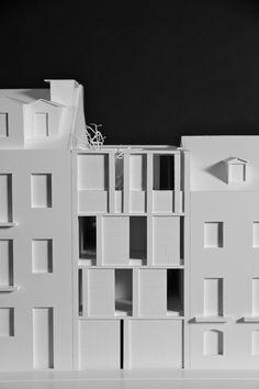Wohnhaus in Lissabon von ARX Portugal Arquitectos, Modell