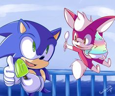 Sonic and his friend chip Silver The Hedgehog, Sonic The Hedgehog, Sonic Unleashed, Online Video Games, Sonic Adventure, Sonic Heroes, Sonic Fan Art, Happy Moments, Kawaii Anime