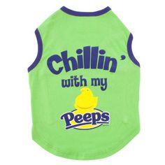 "PEEPS® ""Chillin' with my Peeps"" Tank   T-Shirts & Tank Tops   PetSmart"
