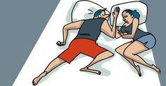 De acuerdo con los expertos, la posición en que dormimos con nuestra pareja dice mucho del momento por el que pasamos en la relación.