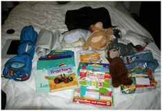 What to pack in your hand luggage for a long haul flight with a toddler