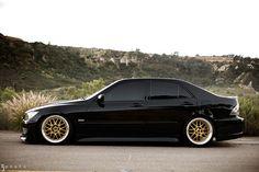 Black Lexus IS300
