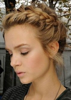 25. #French Braid Updo - 38 Gorgeous #Braids You've Got to Learn Now ... → Hair #Braid