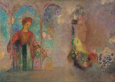 forma es vacío, vacío es forma: Odilon Redon - pintura