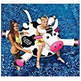Swimline LOL Cow Inflatable Pool Float