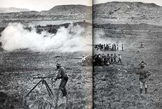 This Day in History: Oct 11 Boer War begins in South Africa - It was a war of greed. An already rich and powerful nation wanted more and was willing to sacrifice anything to get it. British Soldier, British Army, My Family History, World History, Military Art, Military History, Armed Conflict, Defence Force, St Helena