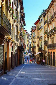 Pamplona, Navarra Calle del Carmen
