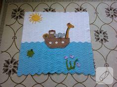Nuhun Gemisi bebek battaniyesi