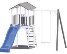 Spielturm Beach Tower Swing Holz mit Sandkasten, Einzelschaukel, Rutsche blau jetzt im HORNBACH Onlineshop bestellen! Garantierte Dauertiefpreise, Beratung und Service bei HORNBACH.