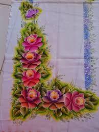 Resultado de imagen para passadeira de mesa pintada