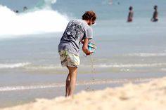 Andrea on the Ipanema Beach in Rio de Janeiro - June 2014 Andrea Casiraghi, Princess Caroline, Prince Albert, Monaco, June, Couple Photos, Beach, Rio De Janeiro, Tatiana Santo Domingo