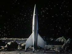 Details about Vintage Mid Century Mechanical Strato Rocket Space Ship ...