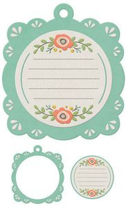 Tags > Journaling Embossed Frame - Simply Spring - We R Memory Keepers: A Cherry On Top