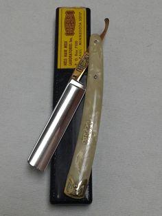 Vintage Hess Straight Razor