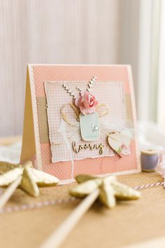 A very pretty giftcard suitable for any occasion or celebration