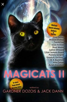 Buy Magicats I by Gardner Dozois, Jack Dann and Read this Book on Kobo's Free Apps. Discover Kobo's Vast Collection of Ebooks and Audiobooks Today - Over 4 Million Titles! Bryant Jennings, Cordwainer Smith, Science Fiction Book Club, Black Cat Art, Black Cats, Isaac Asimov, Ursula, Free Apps, Audiobooks