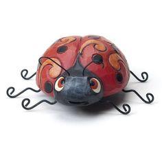 Jim Shore Ladybug Mini Figurine