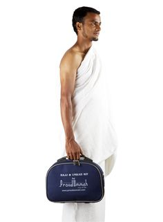 One Kit = 24 Essential Hajj and Umrah Products, Exclusive Free shipping of the Hajj/Umrah kit offered by ProudUmmah. May Allah bless us all an opportunity for a lifetime journey of Hajj and Umrah. Ameen! Click the link below and explore! http://www.proudummah.com/products.htm