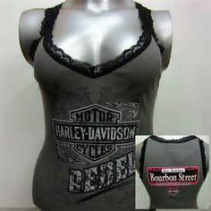 Harley Davison wemons tank tops - Bing Images