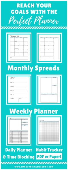 Stay on top of your crazy schedule with this perfect planner! Download the PDF and print yourself or order a paper version. Perfect for a disc planner or ring binder. Happy Planner, Arc Planner, Mini Happy Planner, Schedule, Organization, Time Management, Time Blocking, Goals, Success, #entrepreneur #workingwoman #Workingmom #SAHM #workfromhome #officesupplies #careers #HappyPlanner #ArcPlanner #MiniHappyPlanner #365 #Planner #Schedule #Organization #TimeManagement #timeblocking #Goals…
