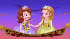 Cartoons Love, Disney Cartoons, Disney Junior, Sofia The First Episodes, Princes Sofia, Sisters Drawing, Cartoon Caracters, Princess Sofia The First, Frozen Pictures