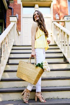Sunny Summer Outfit - The Golden Girl