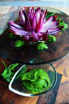 簡単!保存!常備出来る 野菜の王様 モロヘイヤペースト 華麗なる花咲玉ねぎとモロヘイヤ - 夏美人スープ - 豊菜JIKAN 水連のイメージで レシピブログ