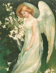 Christmas winged angel with flowers old artist postcard Angel Images, Angel Pictures, Christmas In Heaven, Christmas Angels, Christmas Christmas, Christmas Images, Angel Gif, Funeral Thank You Cards, Victorian Angels