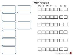 Putzplan Routinearbeiten - Einfache Organisation & Rezepte Routine, Computer Keyboard, Organization, Homes, Computer Keypad, Keyboard