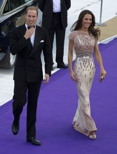 The Royal couple, the Duke and Duchess of Cambridge, graced the lavish formal charity event at Perks Field, Kensington Palace on behalf of the duly organized Prince William and Prince Harry Foundation for youth-related causes worldwide   Joining other stars and prominent personalities, the newly married Royal couple was part of the 10th anniversary of the Absolute Return for Kids (ARK) Charity