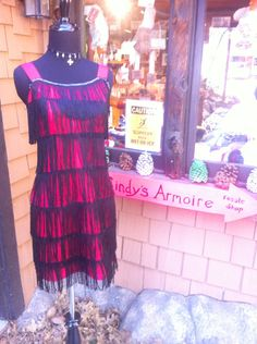 Sexy dress at Cindy's Armoire www.mtnpaws.com