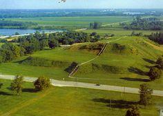 Illinois - Cahokia Mounds State Site.
